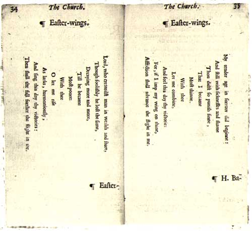 summary of the collar by george herbert