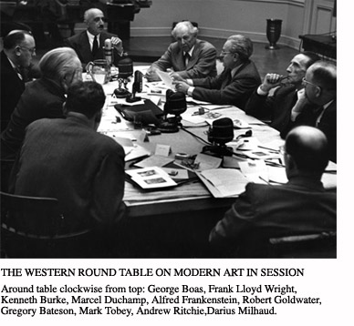 The Western Round Table on Modern Art (1949)